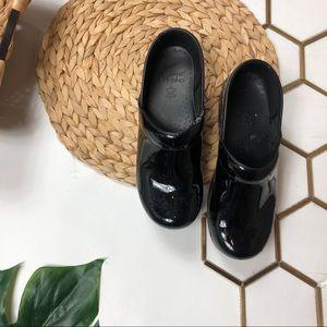 Dansko Black Patent Leather